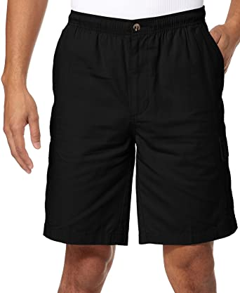 Windham Pointe Elastic Waist Mens Cargo Shorts | Amazon.com