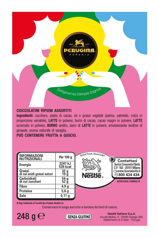 Cioccolatini Assortiti Latta Crema Perugina Scatola Latte Cacao E 92DHYWEI