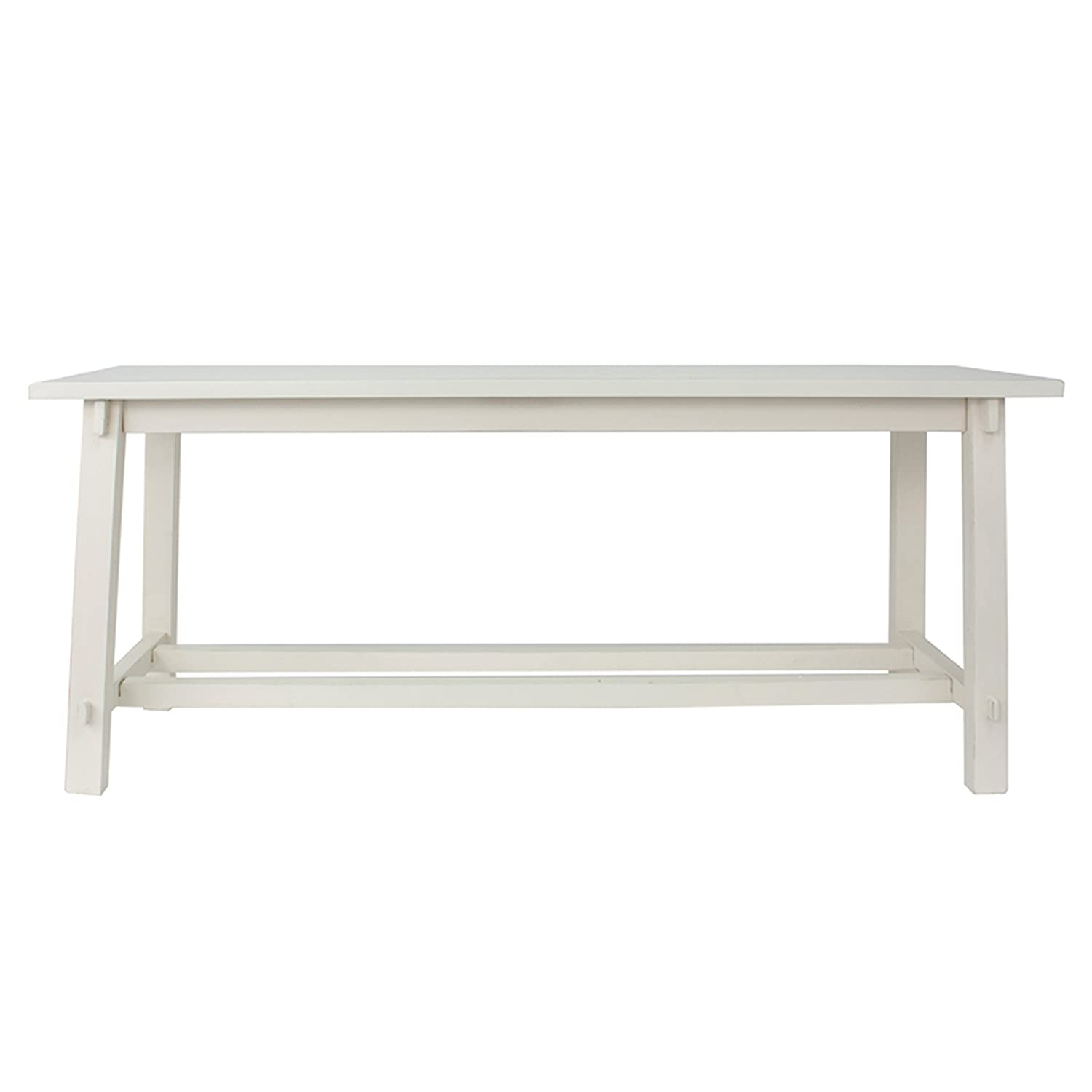Décor Therapy Bench, Antique white