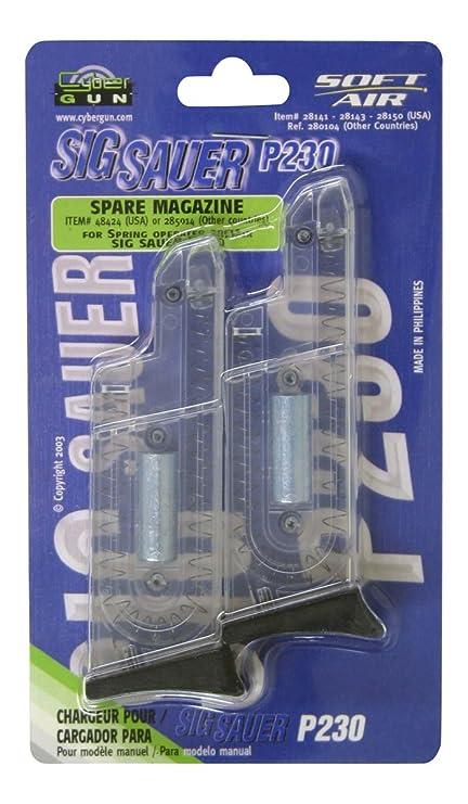 Soft Air Sig Sauer P230 12 Round Airsoft Magazines (2 Pack)