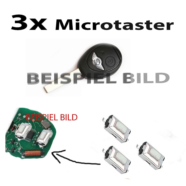 3x Für Mini one cooper Fernbedienung Schlüssel Mikroschalter Taster