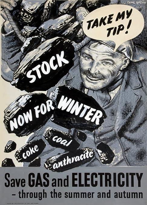 Diseño de British WW2 1939/45 Propaganda TAKE mi propina ...