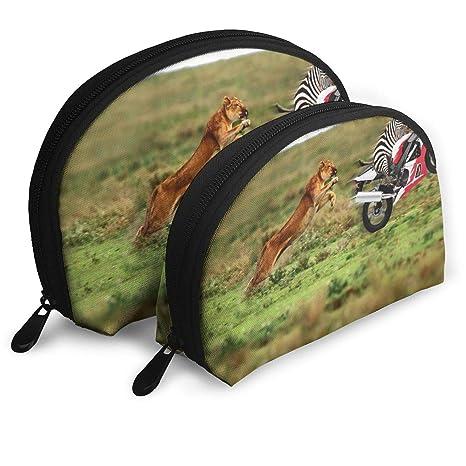 Amazon.com: Lion Chase Ride Moto Zebra Bolsa de embrague ...