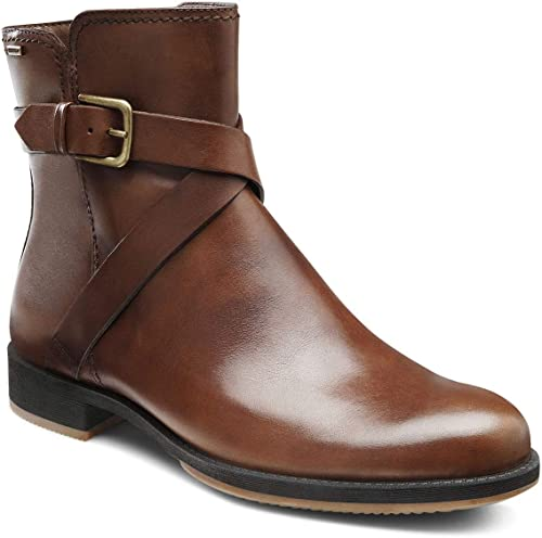 ECCO Women's Saunter Buckle Ankle Boots
