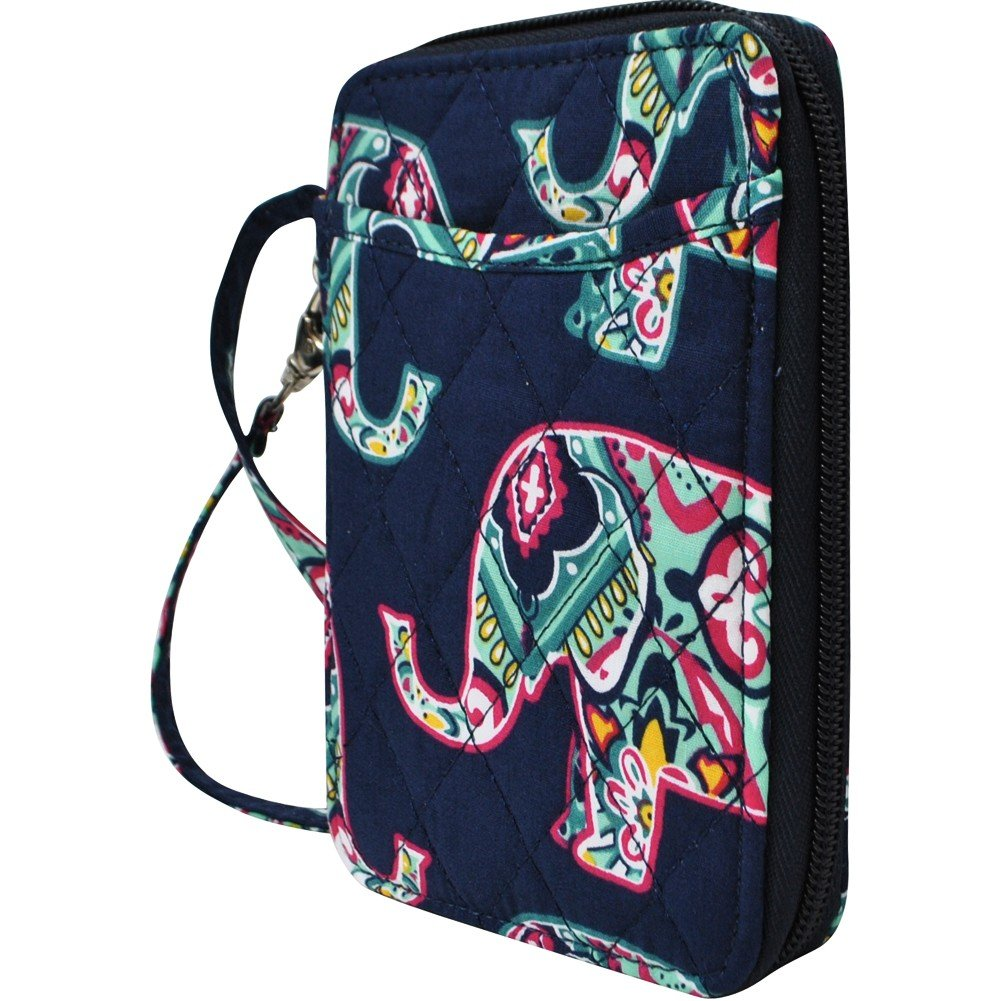Elephant Print NGIL Quilted Wristlet Wallet by N.Gil (Image #2)