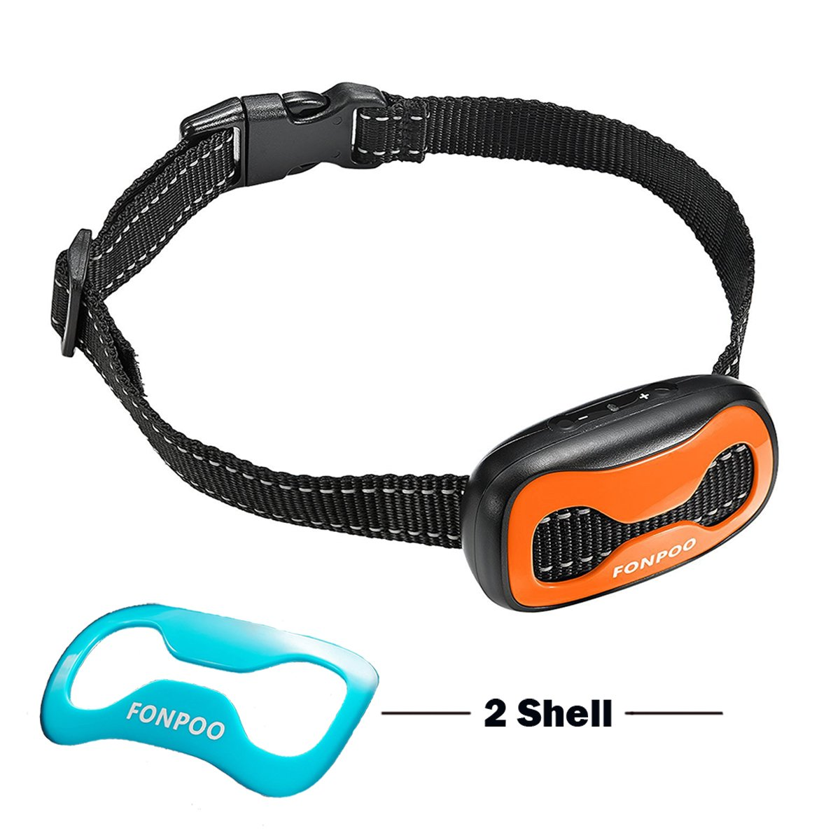FONPOO FP681S Dog No Bark Collar for Bark Control with Harmless Warning Sound
