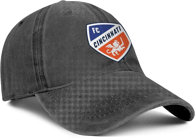 One Size Cowboy Hat Outdoor Trucker Cap Snapback Hat Football Hats FengY LiJiCai Unisex FC-Cool-Cincinnati-Primary-Logo
