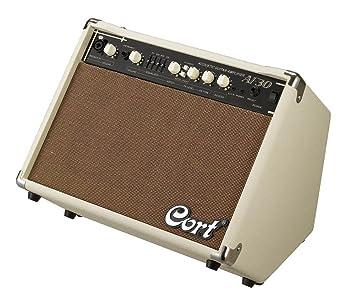 AF30 amplificador de Cort para guitarra acústica Beige