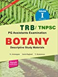 TRB/TNPSC Botany Descriptive Study Materials Volume 1