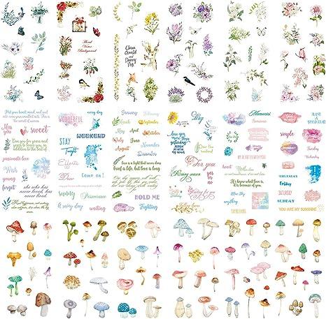 8 sheet rabbit notebook album diary Planner Scrapbooking Decoration stickers