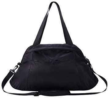 9dc59a6bd1 MIER Women s Gym Tote Bag Lightweight Travel Duffel Sports Holdall ...