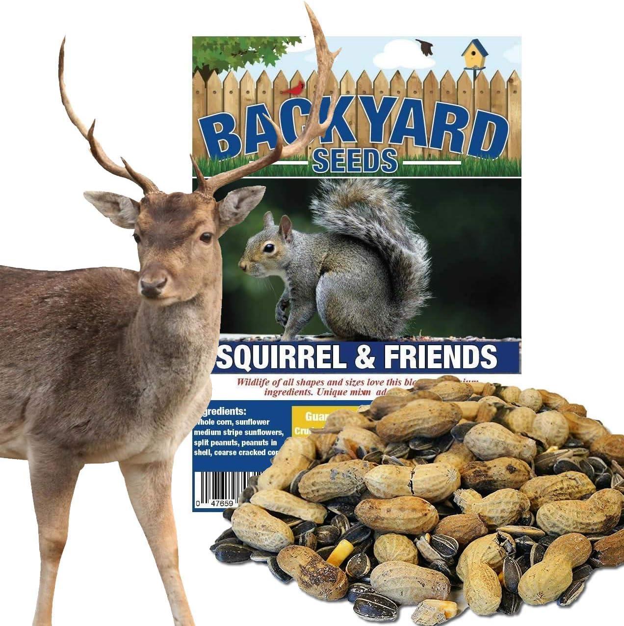 Backyard Seeds Squirrel, Deer Feed & Wildlife Mix 20 Pounds