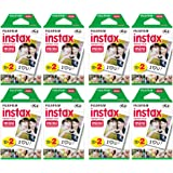Fujifilm Instax Mini Instant Film (8 Twin packs, 160 Total pictures) for Instax Cameras