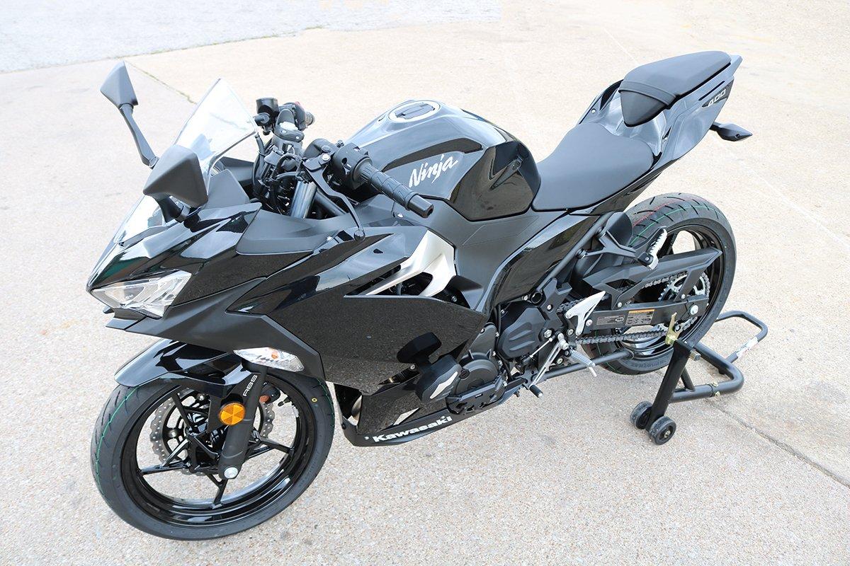 T-Rex Racing 2018-19 Kawasaki Ninja 400 No Cut Frame Sliders Case Covers w/free spools