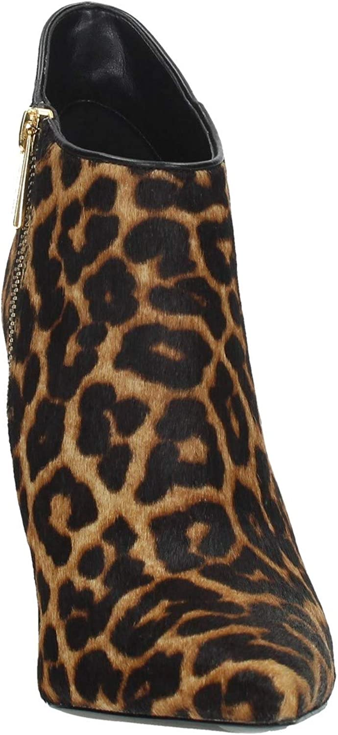 Michael Kors D13 Tronchetto Donna Animalier Printed Haircalf Boots Women Maculato