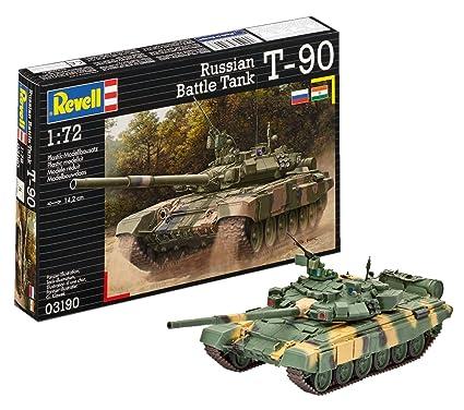 Revell Assembly Model Kit - Russian Battle Tank T-90