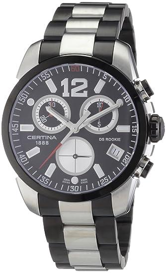 Certina Certina DS Rookie C016.417.22.057.00 - Reloj cronógrafo de caballero de cuarzo