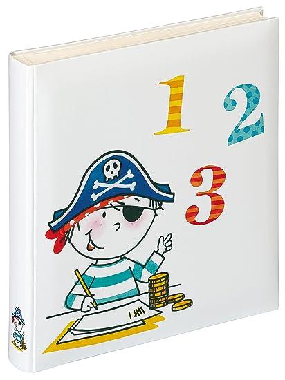 Walther Design FA-268-2 álbum de los niños Pirata Escuela, 50 páginas Blancas, 28 x 30,5 cm, Colorido