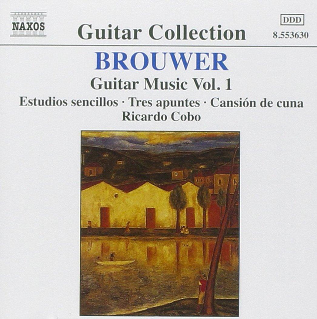 La Obra Para Guitarra Vol. 1: Leo Brouwer, Leo Brouwer: Amazon.es ...