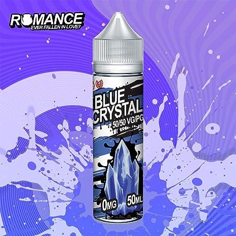 Romance e Liquid Vape Juice 10 fantásticos sabores ricos 50ML 0MG 50/50 PG/VG, sin nicotina (Blue Crystal): Amazon.es: Salud y cuidado personal