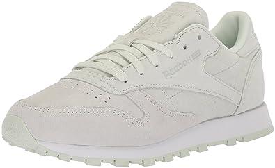 c9c9deb8 Amazon.com | Reebok Women's CL LTHR NBK Sneaker | Walking