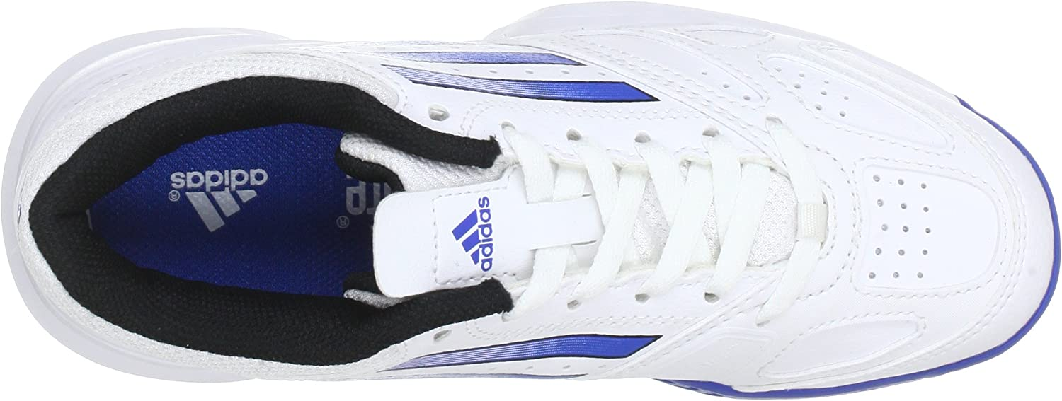 adidas Performance Galaxy Elite 2 K (Tennis) - Zapatillas De Tenis de material sintético infantil, blanco - Weiß (RUNNING WHITE FTW / BLUE BEAUTY F10 / BLACK 1), 28: Amazon.es: Zapatos y complementos