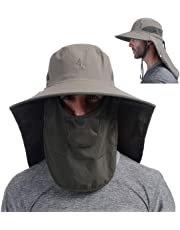 b11a1fc4a2ce4 Outdoor Fishing Hat with Face Mask Ear Neck Flap Cover
