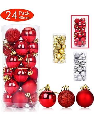 Bolas de navidad | Amazon.es