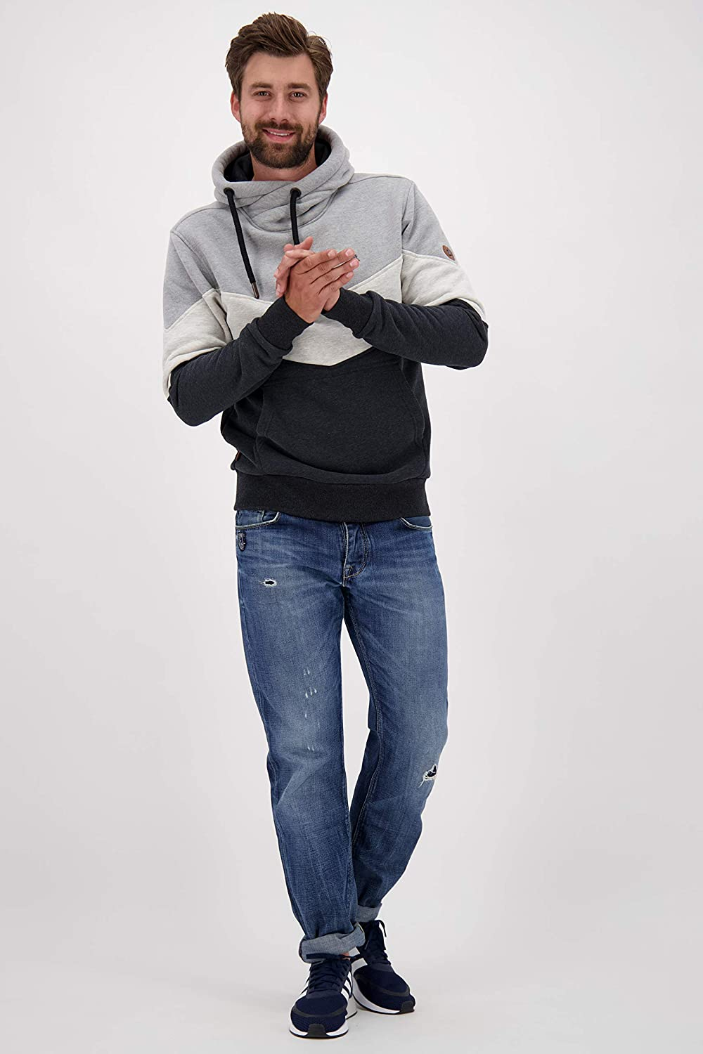 ALIFE and Kickin JasperAK Sweat Herren Sweater Cloudy
