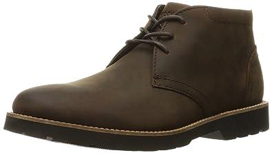 Rockport Men's Hadden Chukka Boot- Dark Brown-7 W