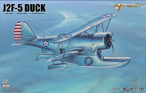 Amazoncom Merit 64805 Model Kit J2 F 5 Duck Toys Games