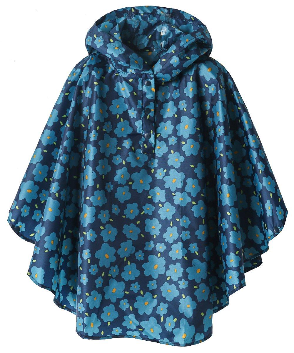 LINENLUX Kids Lightweight Jacket Waterproof Outwear Raincoat