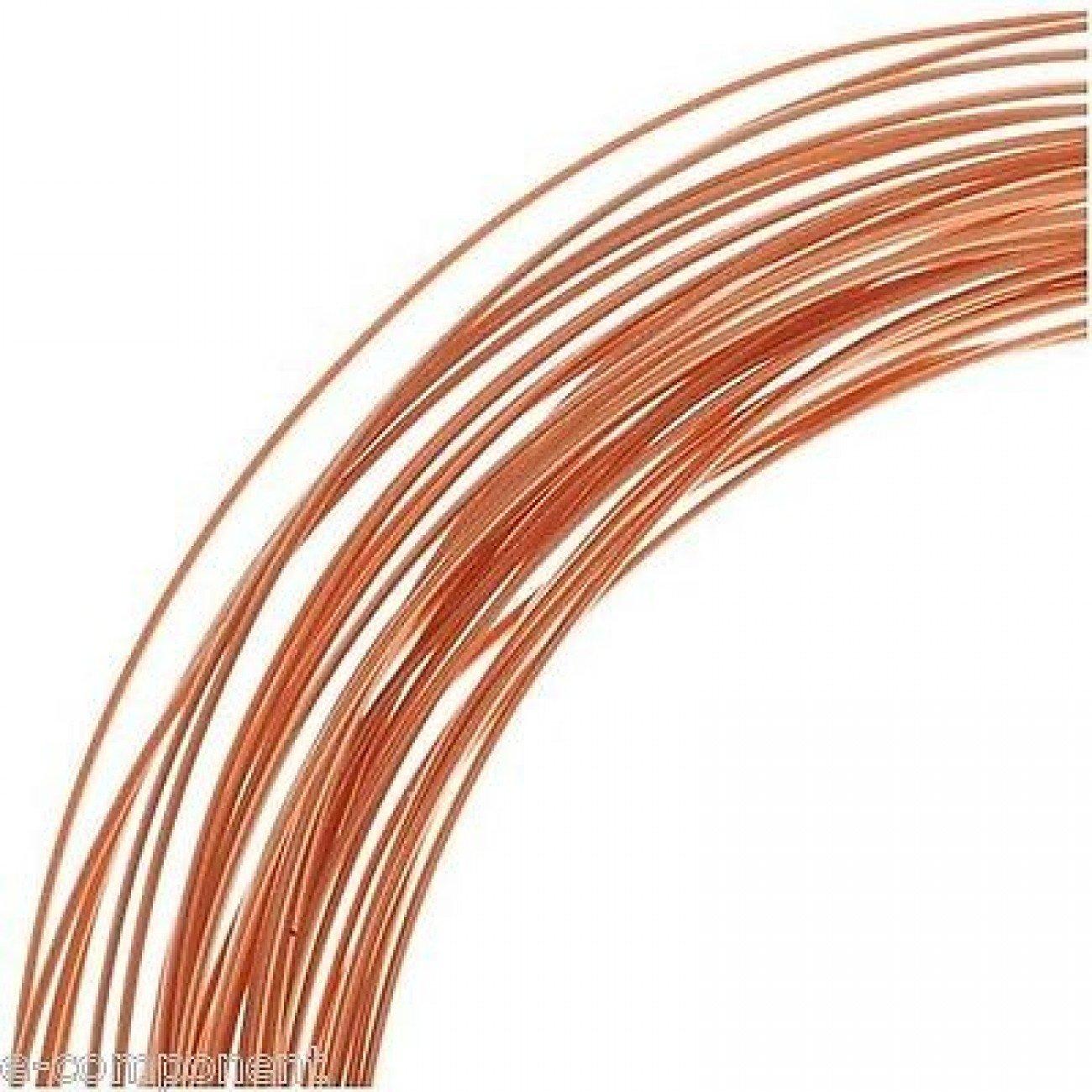 Ecomponent - Hilo de cobre esmaltado para electró nica - Medidas 0, 30 mm - Cantidad 1 metro 30mm - Cantidad 1metro 281072129606