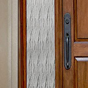 "Gila 50146412 Decorative Privacy Waterfall Film-12 x6.5' Sidelight Window Film, 12"" x 6.5'"