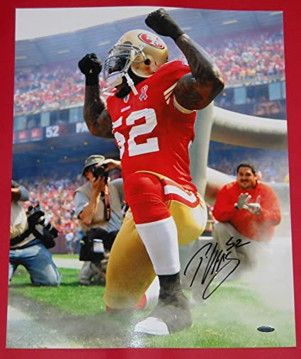 398b2c7ef PATRICK WILLIS AUTOGRAPHED SAN FRANCISCO 49ERS 16X20 PHOTO TRISTAR FULL