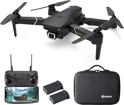Opinión sobre EACHINE E520S Drone con Camara HD Drone 4k Drone GPS Drones con Camaras Profesional 5G WiFi FPV App Distancia de FPV de 250 m Drone Durable de Vuelo (2 Baterías y Estuche)