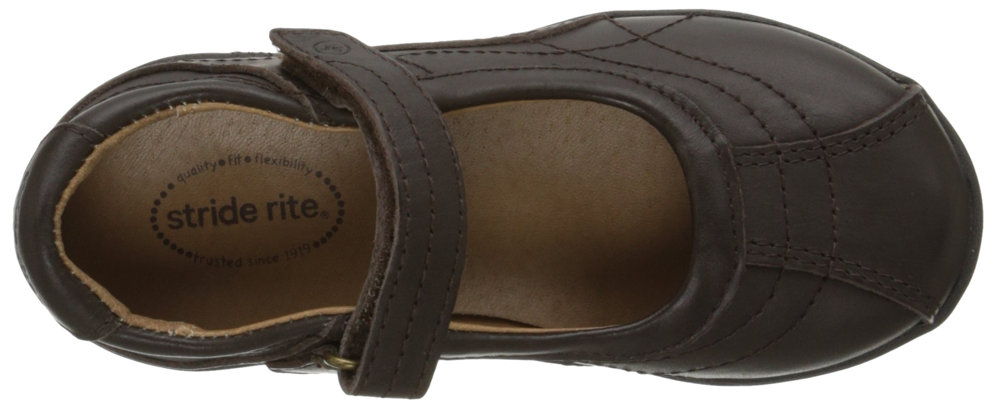 Stride Rite Claire Mary Jane (Toddler/Little Kid/Big Kid),Brown,13 M US Little Kid by Stride Rite (Image #8)