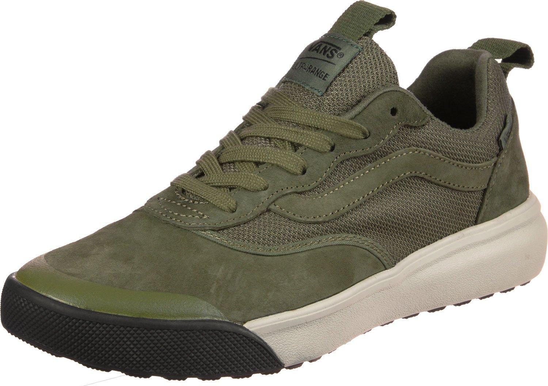 da1b9a00a5016e Galleon - Vans Mens Winter Moss Green Ultrarange Sneakers-UK 6