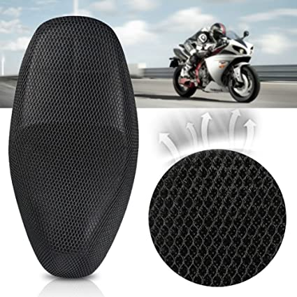 Amazon.com: BEYST Motorcycle Seat Cushion Cover, 3D Anti ...