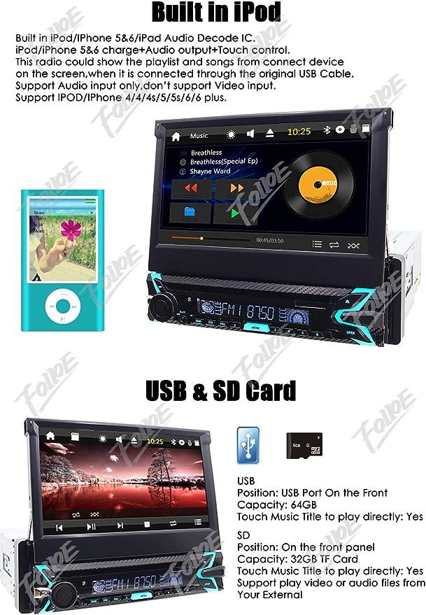 Reproductor de DVD y CD para salpicadero de coche pantalla ...