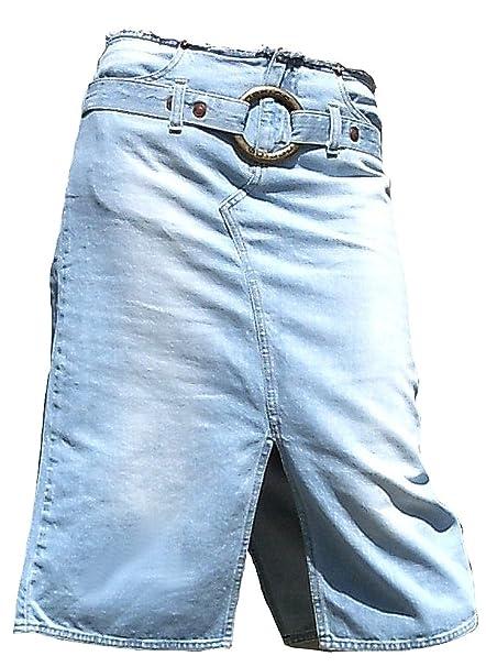 Fornarina Mujer Jeans Rock Azul Model Kick de Kick con ...