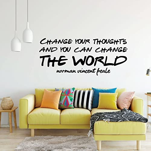 Exceptional Image Unavailable. Image Not Available For. Color: Motivational Wall Decal    Change Your ...