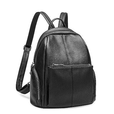 Amazon.com  Leather backpacks Preppy Style Travel Bags female backpacks  women school backpack 0ba4c45f1a0c9