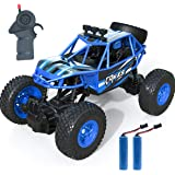 Remote Control Car, Kookids RC Car 2.4Ghz 1:20 Scale RC Crawlers with 2 Rechargeable Batteries, Off Road Vehicle for…