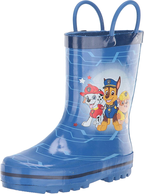 Josmo Kids Mens Paw Patrol Rain Boot