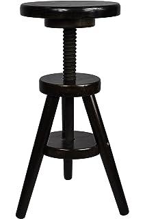 Drehhocker höhenverstellbar  IKEA SVENERIK Drehhocker aus Massivholz; höhenverstellbar ...