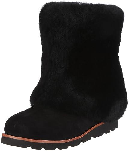 4d749e149a3 Amazon.com   UGG Australia Women's Maylin Boots, Black, 12 US   Boots