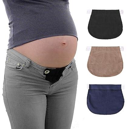 f118a2201783 Healifty Estensori per Pantaloni di Gravidanza regolabile 3 PCS  Amazon.it   Casa e cucina