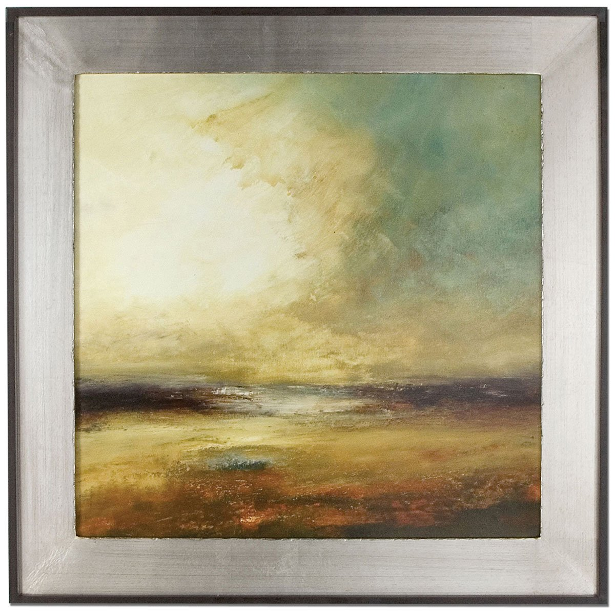 Amazon.com: Uttermost 41408 New Land Framed Art: Oil Paintings ...