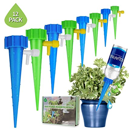 New Upgrade Self Watering Spike Slow Release Vacation Plants Watering System Automatic Watering Devices For Wine Bottle Small Plastic Water Bottle